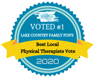 Voted #1 Physical Therapist in Lake Country!